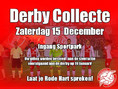 Zaterdag: derbycollecte!