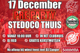 Pré party SteDoCo thuis 17 december 2019