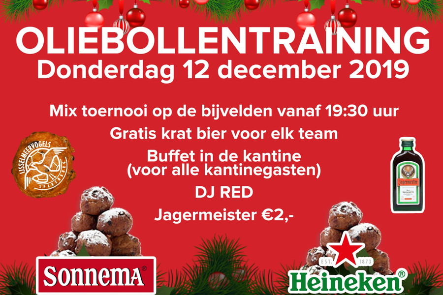 Oliebollentraining 12 december 2019